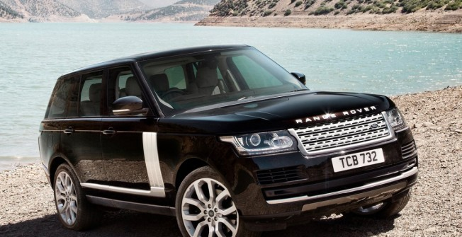 Range Rover on Finance in Ballymoney